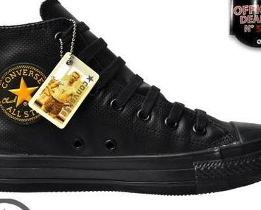 #Converse Chuck Taylor All Star #Schuhe #Winter Chucks 105990 Leder schwarz #Gold !