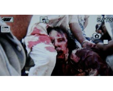 Die Lynchjustiz an Muammar Gaddafi