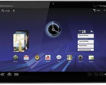 Motorola Xoom Update auf Android 3.2 in Deutschland gestartet.