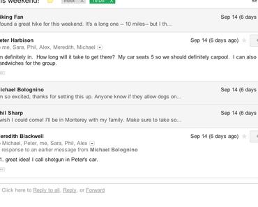 Google Mail bekommt neues Design