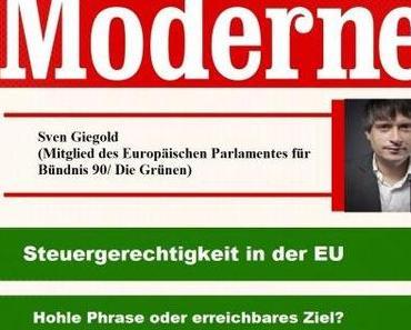 Sven Giegold in Greifswald – Steuergerechtigkeit in der EU (?)