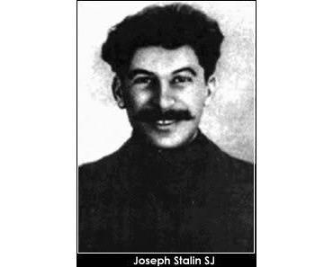 Josef Stalin wurde an der katholischen, von Kapuzinern geführten Schule in Gori ausgebildet!