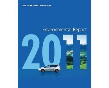 Toyota Motor Corporation (TMC) veröffentlicht Umweltbericht 2011