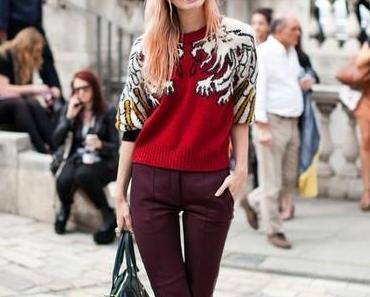 Inspiration - Burgundy Pants