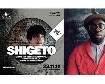 Rockit Nürnberg – Veranstaltungen im November 2011: Shigeto und Ghostpoet