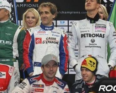 Race of Champions 2011 so stark besetzt wie noch nie!