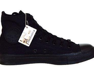 #Converse All Star Chuck Taylor Chucks M3310 #Black #Mono schwarz HI allstar #www.chucks.me