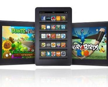 Amazon Kindle Fire: 8,9-Zoll und 10,1-Zoll Tablets sollen 2012 auf den Markt kommen.