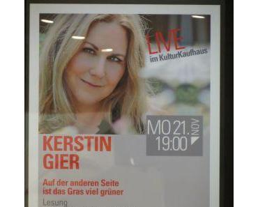 Lesung mit Kerstin Gier am 21.11.