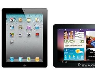 Stiftung Warentest: Samsung Galaxy Tab 10.1 schlägt Apple iPad2.