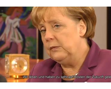 Digitaler Bürgerdialog: Zehn Fragen an Angela Merkel