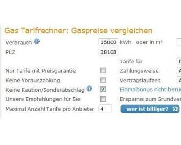 |Review| Strom- und Gasanbietervergleich bei wer-ist-billiger.de