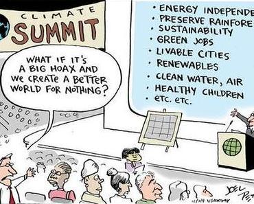 Wenn der Klimawandel eine Lüge ist, dann...