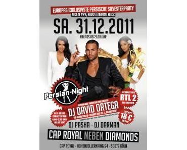 Persian-Night Silvester-Special mit DJ David Ortega