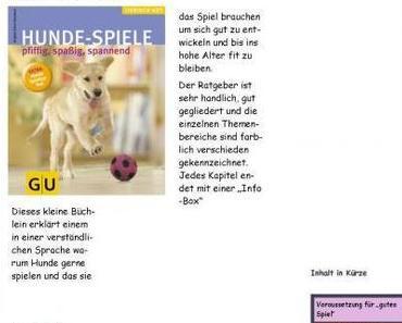 Brigitte Eilert-Overbeck  ~  Hunde-Spiele pfiffig, spaßig, spannend