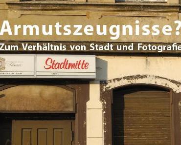 HCU Hamburg: Stadt, Fotografie und Armut