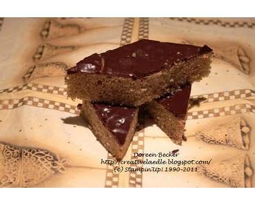 9. Türchen - Weihnachtsbäckerei Schüttel Lebkuchen