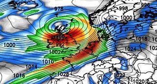 Sturm und Orkan Deutschland Dezember 2011: Nächste Woche voraussichtlich wieder am Freitag, 16. Dezember