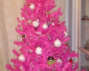 pinke Weihnacht