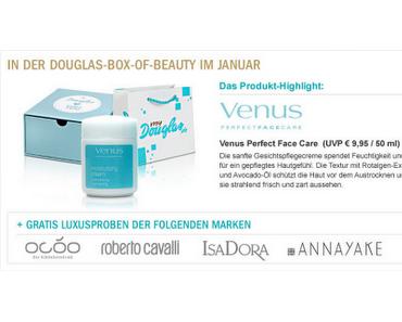 Preview: Douglas Box of Beauty Januar 2012
