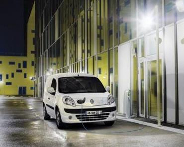 International Van of the Year 2012 wurde der Renault Kangoo Z.E.