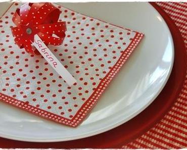Paperballs- Papierkugeln als Platzdeko / Table Decoration