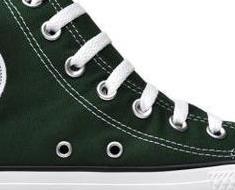 Converse flache Schuhe All Star Chucks 100097 Hi Canvas