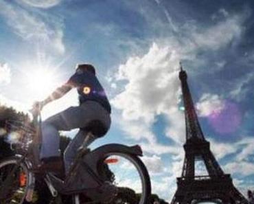 Paris auf dem Fahrrad