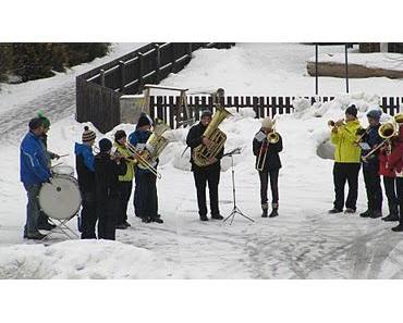 Neujahranblasen der Musikkapelle Schwangau