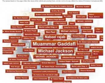Gaddafi zum Held der Menschenrechte gewählt