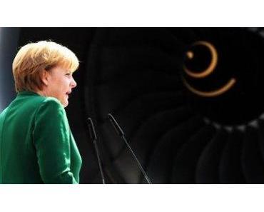Die Eurofighterin: Angela Merkel dealt wieder