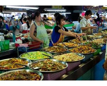 Essen auf dem Markt in Chiang Mai