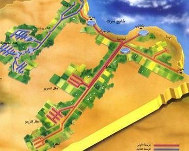 Globalisten stehlen Libyens Wüstenwasser