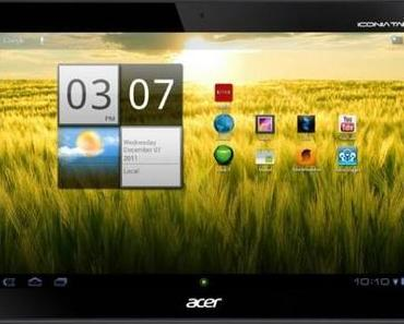 Acer Iconia Tab A200 ab sofort bei Amazon erhältlich