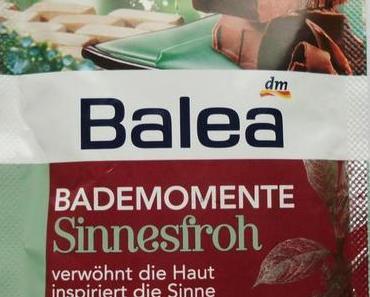 Balea Bademomente Sinnesfroh Kakao
