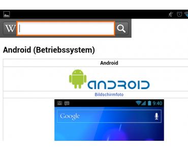 Offizielle Wikipedia App für Android