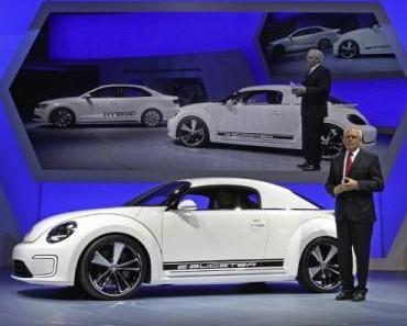 Detroit Auto Show 2012 – Volkswagen im Zeichen von Hybrid und e-Mobilität