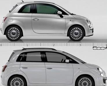 4-türiger Fiat 500 MPV feiert Premiere in Genf