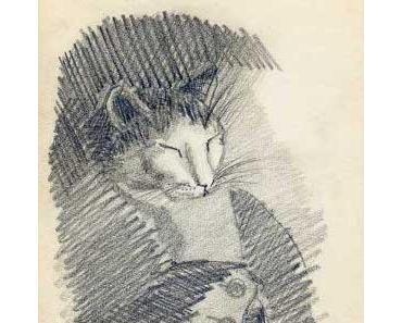 Carl Grossberg, Katze im Offiziersrock