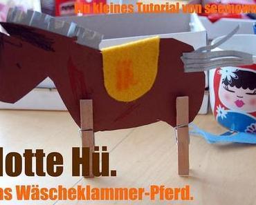 Tutorial: Wäscheklammer-Pferd.