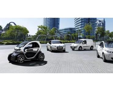 Renault ladet zum E-Mobil Test ein
