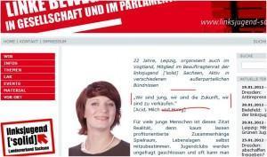 """Linke Bazille: """"Ich liebe und fördere den Volkstod!"""""""