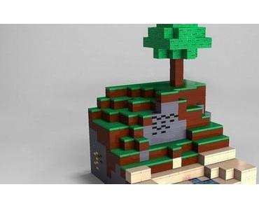 Minecraft goes Lego