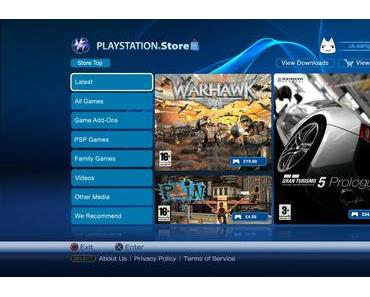 Playstation Network – DE Store Update