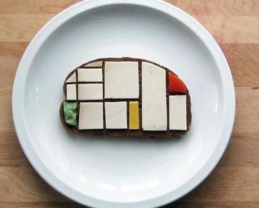 Duchamp auf's Brot