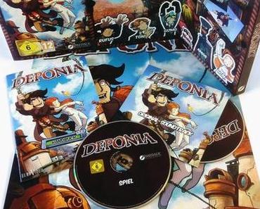 Deponia – Der Irre Adventure Hit ist ab heute überall erhältlich