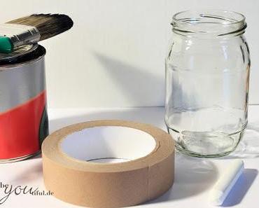 """Aus alt mach neu"": DIY Tafellack Glas / Dekoration"
