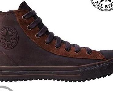 #Converse Schuhe Chuck Taylor All Star Chucks 105821 Braun Leder Leather HI Winter Boots