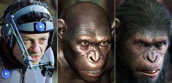 Andy Serkis effektelos in 'Planet der Affen'