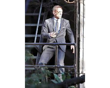 Skyfall: Neue Fotos von Daniel Craig am Filmset